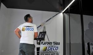 Plafonds tenuds : NOUVEAUTE NETTOYAGE ET LUSTRAGE pour l'Entretien de vos Plafonds.